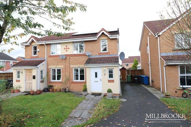 Thumbnail Semi-detached house to rent in Foxfold Close, Mosley Common
