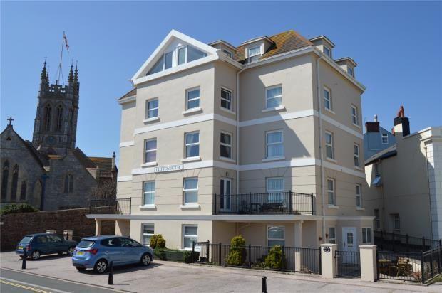 Thumbnail Flat for sale in Clifton House, Den Promenade, Teignmouth, Devon