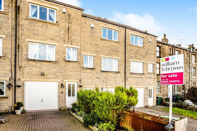 Thumbnail Town house for sale in The Riverside, Linthwaite, Huddersfield