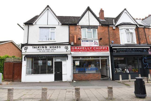 Thumbnail Restaurant/cafe for sale in Gravelly Lane, Erdington, Birmingham