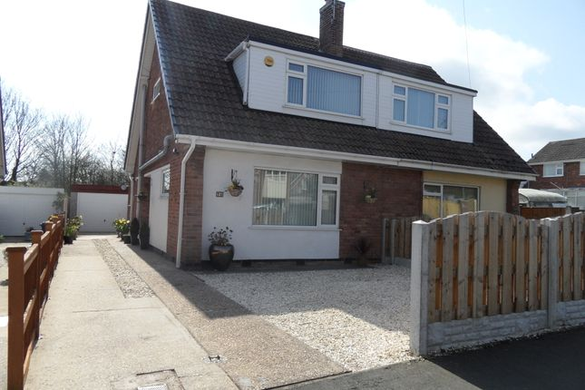 Thumbnail Semi-detached house for sale in Shelley Rise, Adwick, Doncaster