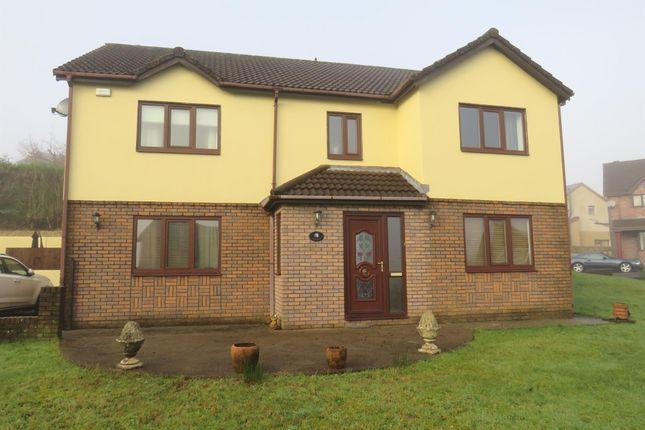 Thumbnail Detached house for sale in Kingsacre, Llantwit Fardre, Pontypridd