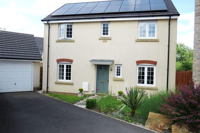 Thumbnail Detached house for sale in Lantern Close, Llanharan, Pontyclun