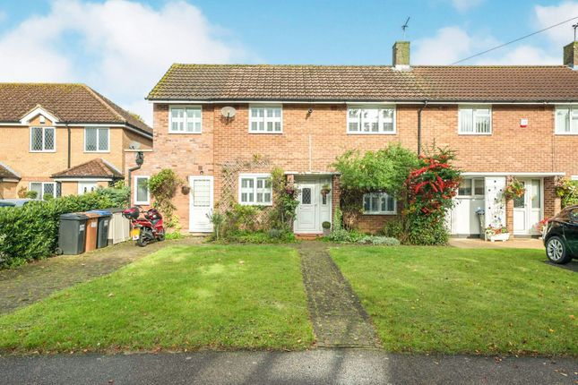 Thumbnail End terrace house for sale in Linces Way, Welwyn Garden City