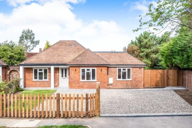 Thumbnail Bungalow for sale in Rickford Hill, Worplesdon, Surrey