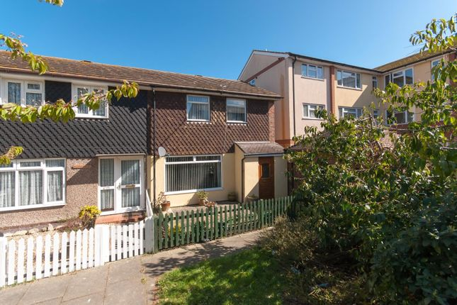 Thumbnail End terrace house for sale in Elham Close, Margate