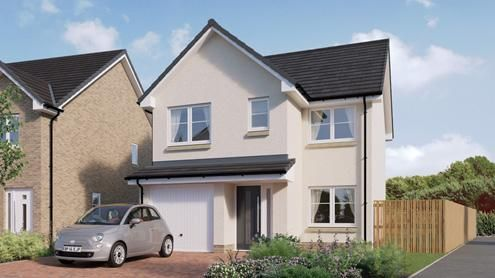 Thumbnail Detached house for sale in Borland Walk, Glassford, Strathaven