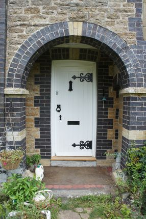 Front Door of Lodge Hill, East Coker BA22