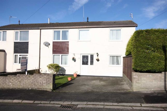 Thumbnail Semi-detached house for sale in Stad Ty Croes, Llanfairpwllgwyngyll