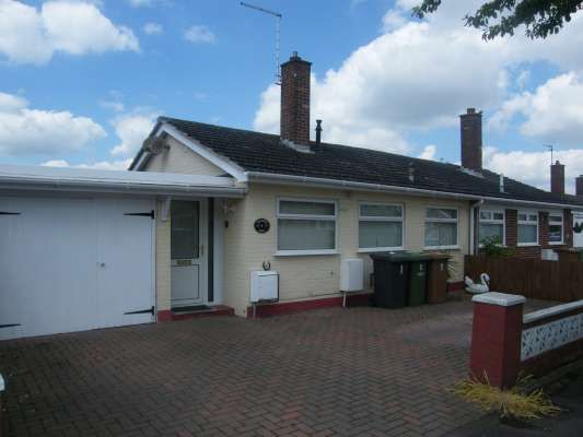Thumbnail Semi-detached bungalow to rent in Chesterton Grove, Stanground, Peterborough
