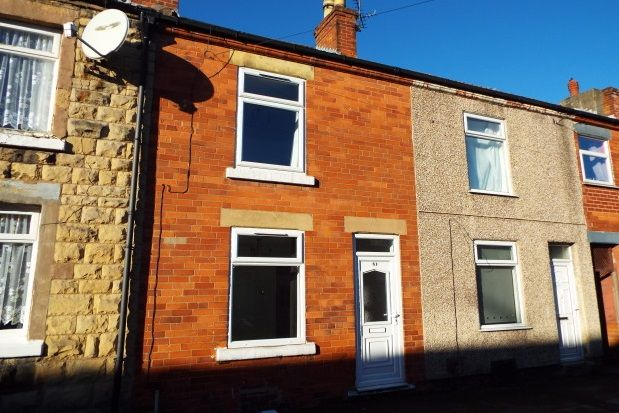 Thumbnail Terraced house to rent in Newton Street, Mansfield