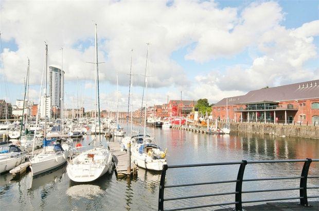 Thumbnail Flat to rent in Abernethy Quay, Maritime Quarter, Swansea