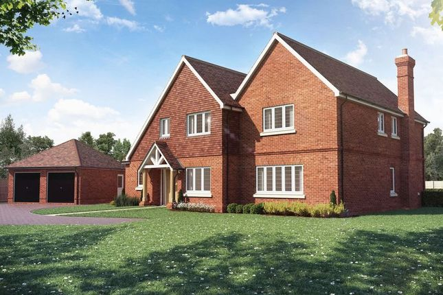 Thumbnail Detached house for sale in Clappers Lane, Chobham, Woking