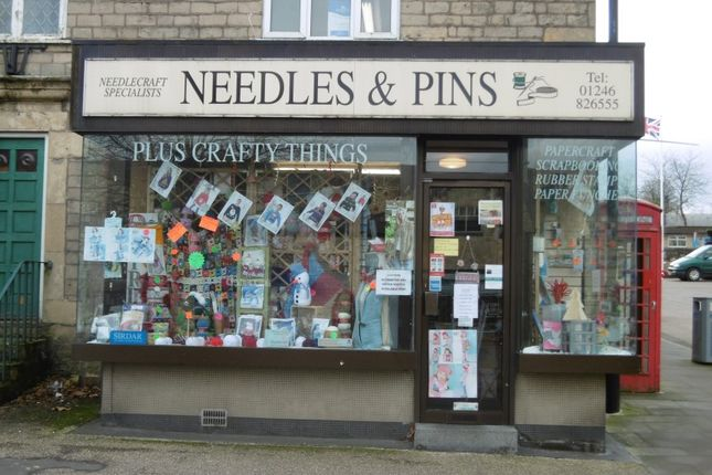 Commercial property for sale in Needles & Pins, 36A Market Place, Bolsover, Chesterfield, Derbyshire