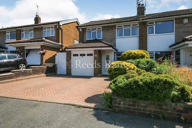 Thumbnail Semi-detached house for sale in Harris Drive, Hyde, Greater Manchester