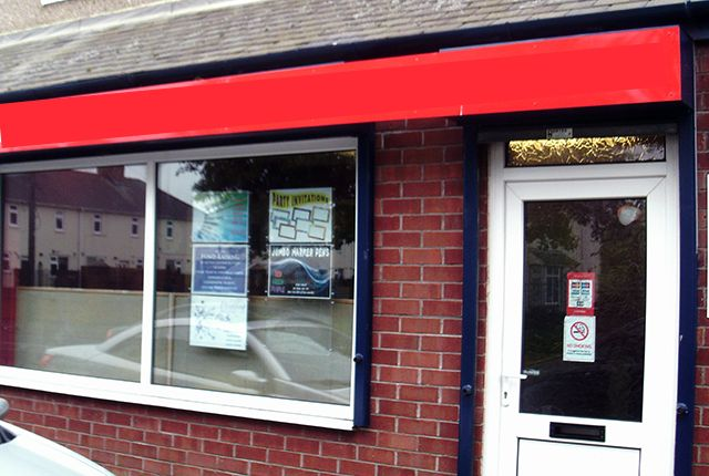 Thumbnail Retail premises for sale in Alexandra Road, Ashington