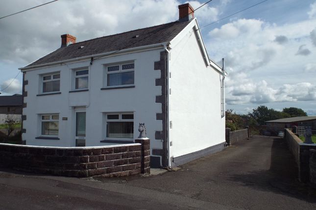 Thumbnail Detached house for sale in Maesglas Road, Penygroes, Llanelli