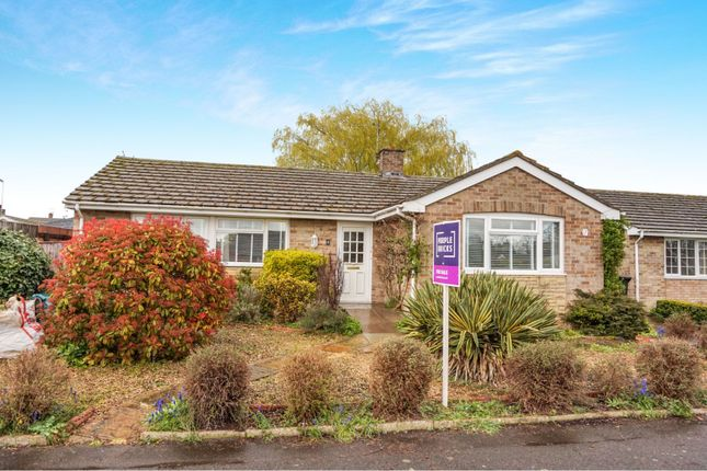 Thumbnail Detached bungalow for sale in Fairfax Road, Chalgrove