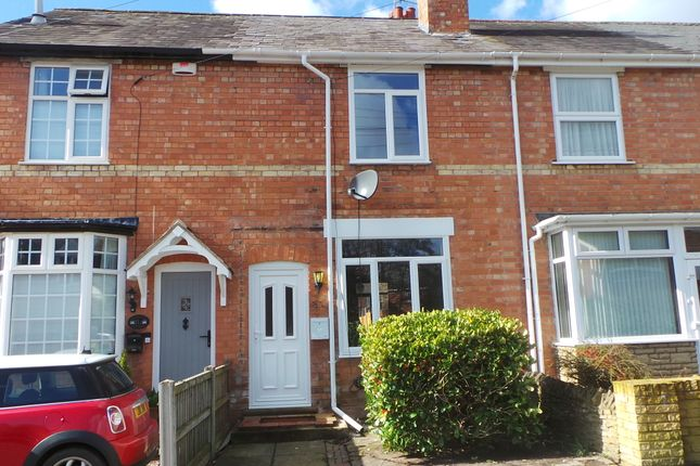 Thumbnail Terraced house to rent in Brook Road, Bromsgrove