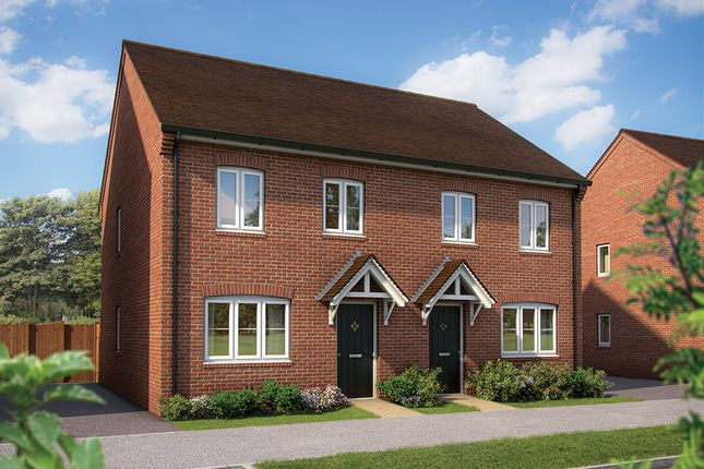 "Thumbnail Terraced house for sale in ""The Magnolia"" at Sowthistle Drive, Hardwicke, Gloucester"