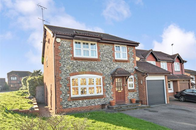 Thumbnail Detached house for sale in Crest View, Greenhithe, Kent
