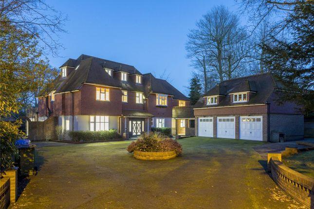 Thumbnail Detached house for sale in Silverdale Avenue, Ashley Park, Walton-On-Thames, Surrey