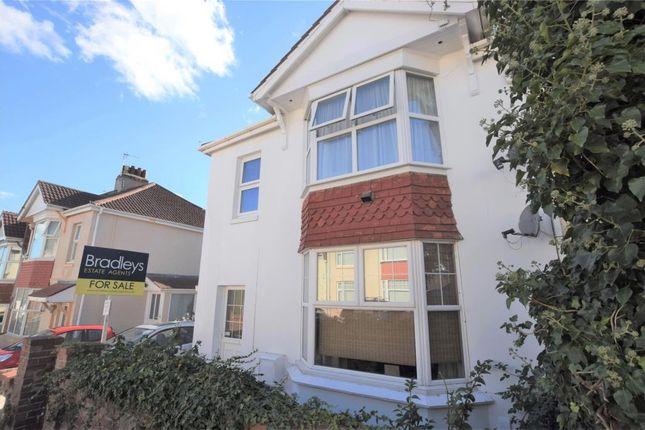 Thumbnail Flat for sale in St Pauls Road, Paignton, Devon