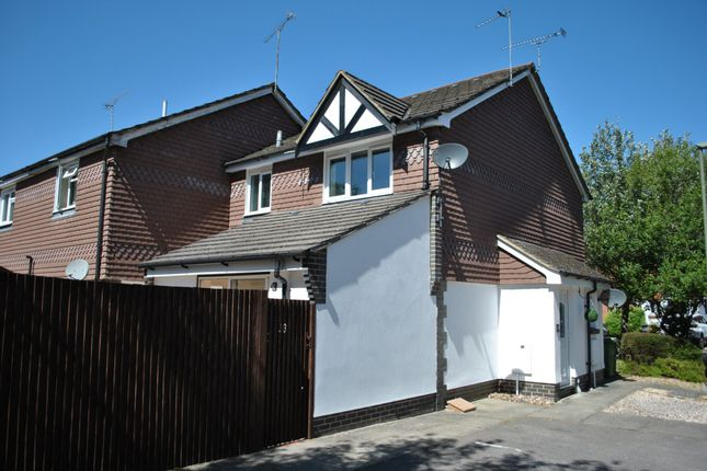 Thumbnail Semi-detached house for sale in Haining Gardens, Mytchett, Camberley