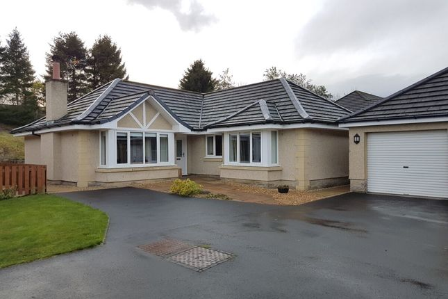 Thumbnail Bungalow for sale in Byretown Gardens, Kirkfieldbank, Lanark