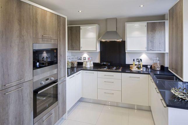 "Thumbnail Detached house for sale in ""Faringdon"" at Warkton Lane, Barton Seagrave, Kettering"