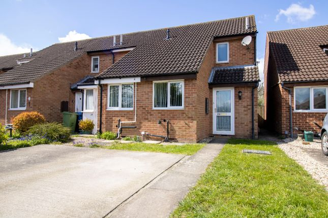 1 bed end terrace house for sale in Prince Albert Court, Hucclecote, Gloucester GL3