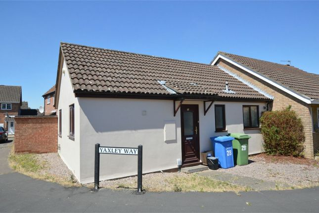 Thumbnail Semi-detached bungalow for sale in Yaxley Way, Bowthorpe, Norwich