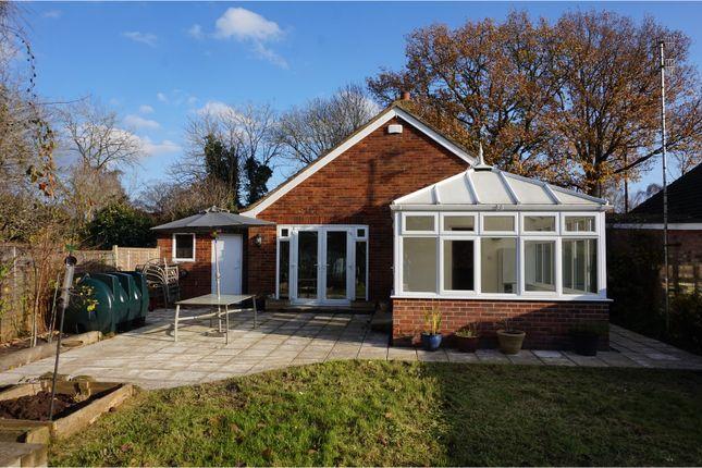 Thumbnail Detached bungalow for sale in The Green Lane, Tonbridge