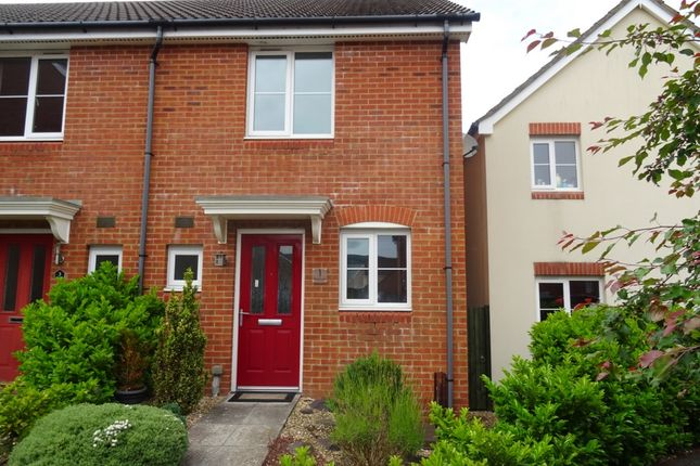 Thumbnail End terrace house to rent in Wood Lane, Cae Penderyn