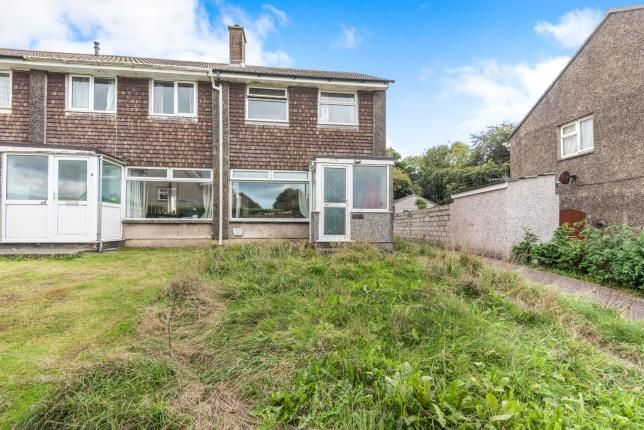 Thumbnail End terrace house for sale in Camborne, Cornwall, .