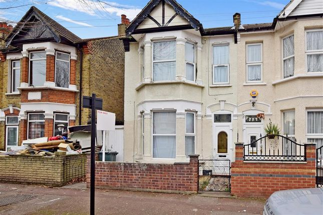 Thumbnail End terrace house for sale in Mitcham Road, East Ham, London