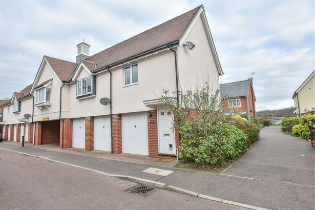 Thumbnail Maisonette for sale in Oxton Close, Rowhedge, Colchester, Essex