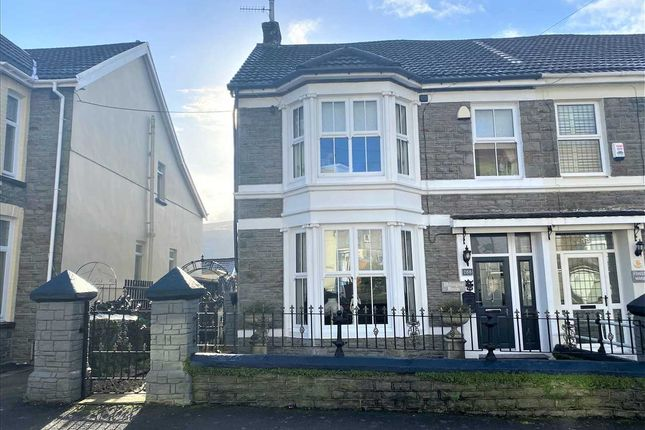 4 bed semi-detached house for sale in Old Brithweunydd Road, Tonypandy CF40