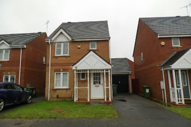 Thumbnail Detached house to rent in Gavin Close, Thorpe Astley, Braunstone, Leicester