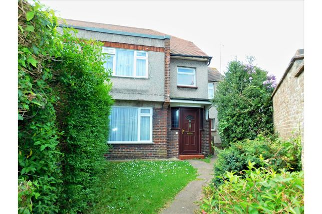 Thumbnail End terrace house for sale in Dominion Road, Worthing
