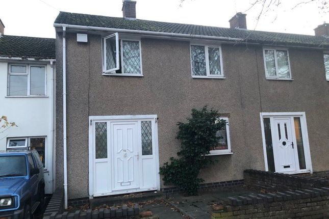 Thumbnail Terraced house to rent in Jamescroft, Willenhall