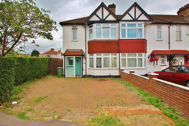 Thumbnail End terrace house to rent in Fencepiece Road, Ilford