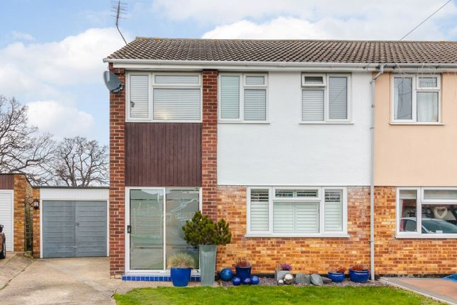 Thumbnail Semi-detached house for sale in Highlands Drive, Maldon, Essex
