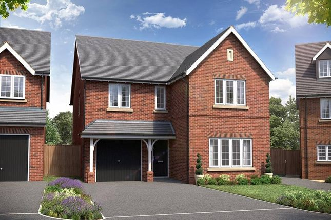"Thumbnail Detached house for sale in ""The Ramhill"" at Red Lane, Burton Green, Kenilworth"