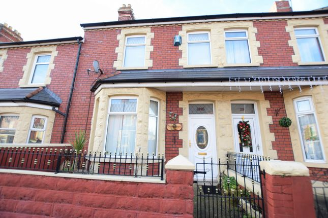 Thumbnail Terraced house for sale in Station Street, Barry