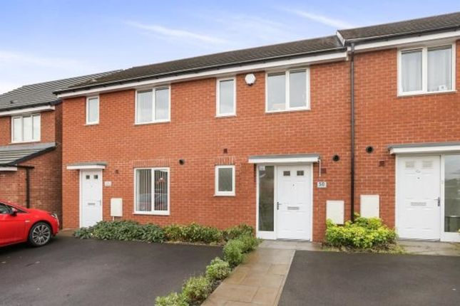 Thumbnail Town house for sale in Spring Lane, Willenhall