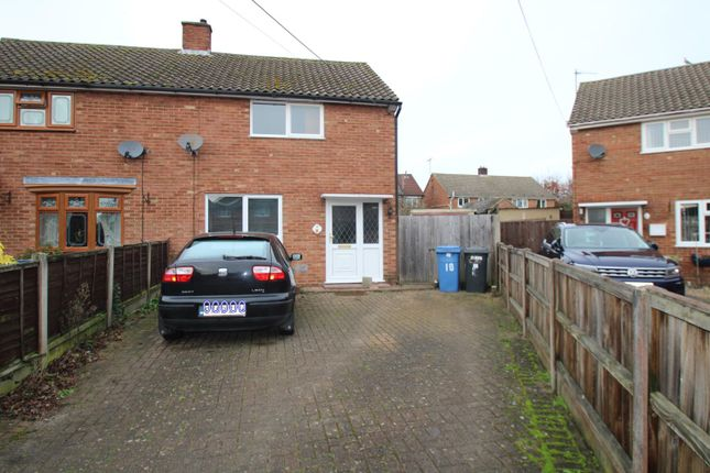 Semi-detached house for sale in Oriel Close, Great Cornard, Sudbury