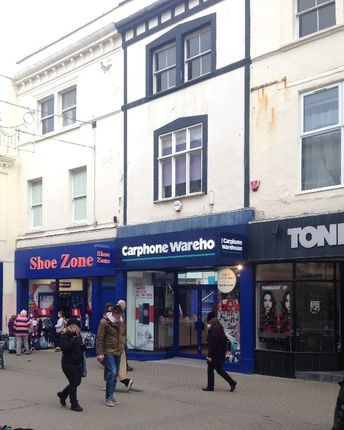 Retail premises to let in 38 High Street, Weston Super Mare