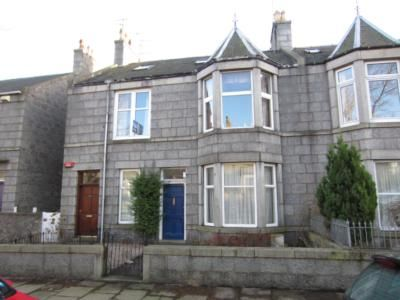Thumbnail Flat to rent in Abergeldie Terrace, Aberdeen