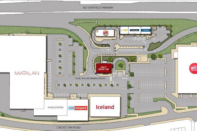 Thumbnail Retail premises to let in Unit 4 Parkway Retail Park, Sheffield Parkway, Sheffield